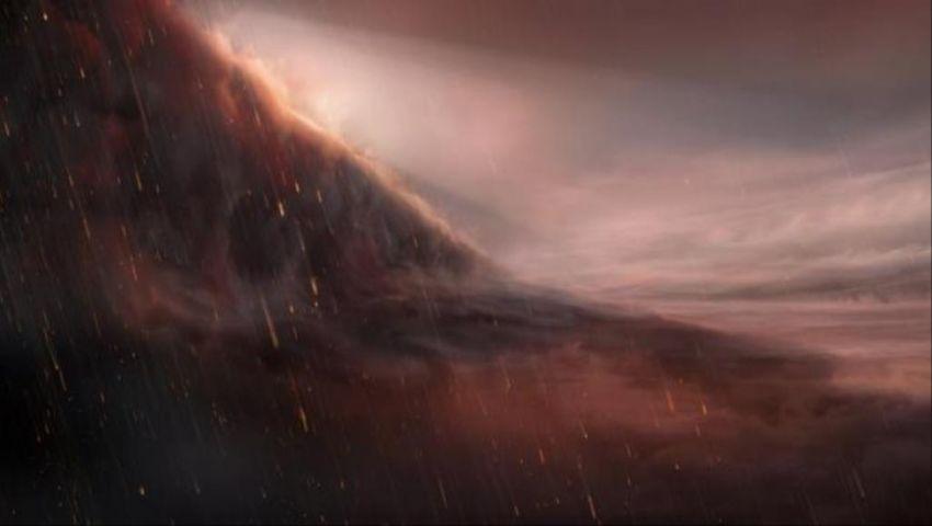 صور| يمطر سيولا معدنية.. اكتشاف كوكب جديد يبخر الحديد