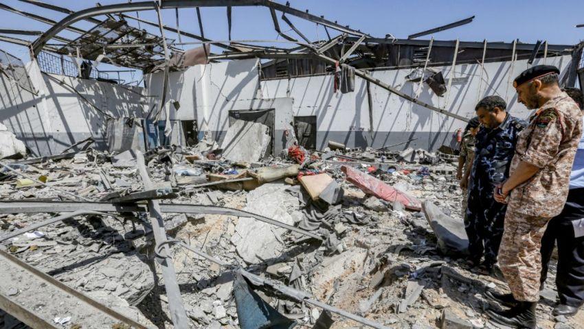 ليبيا| «رايتس ووتش»: قصف مركز تاجوراء هجوم قاتل يؤكد الاستخفاف بالمدنيين