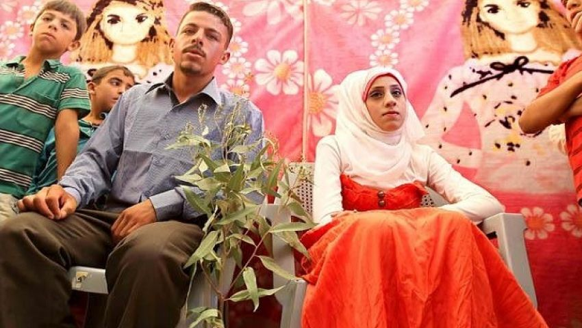 الزواج المبكر.. ملاذ اللاجئات السوريات هربًا من الاغتصاب