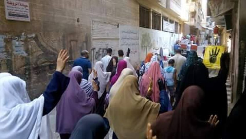 لبيك يا أقصى.. شعار مسيرات الإخوان بالإسكندرية