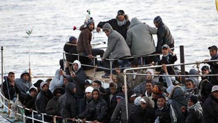 خفر السواحل الإيطالي ينقذ 414 مهاجرا غير شرعيين بينهم أطفال