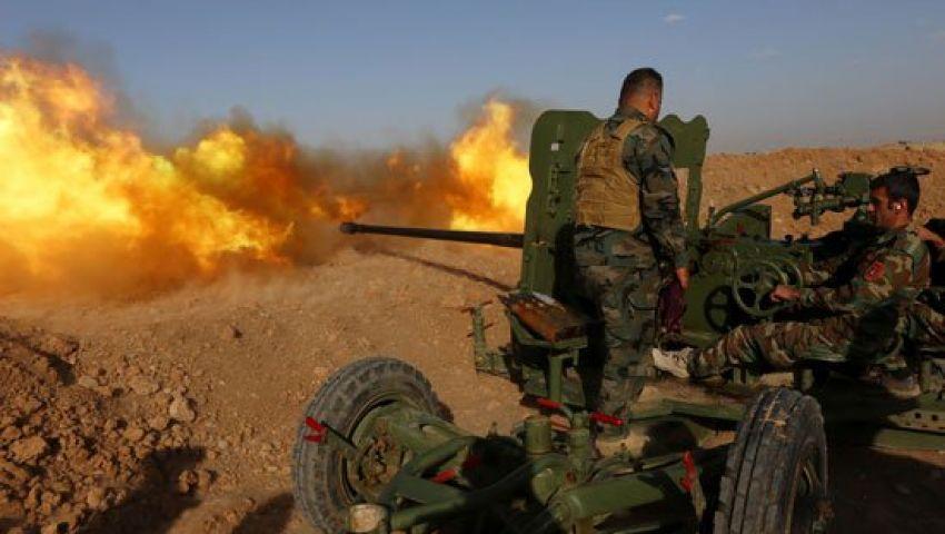 تعزيزات عسكرية ضخمة فى العراق استعدادا لمعركة الموصل