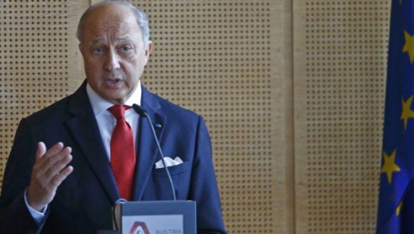 فابيوس: صرامة باريس مع طهران لن تضر الشركات الفرنسية