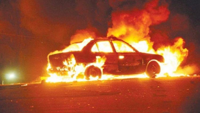 بالفيديو.. مقدسي يحرق دورية إسرائيلية بالمولوتوف