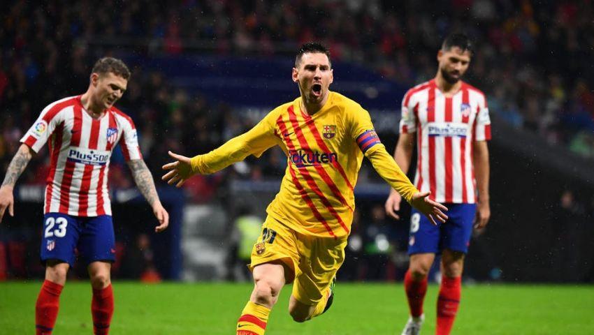 كيف ردت جماهير أتلتيكو مدريد على هدف ميسي القاتل؟