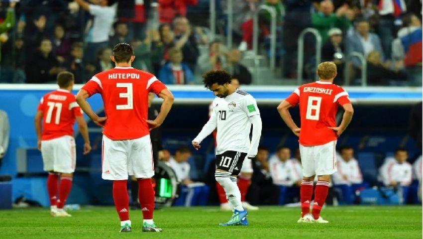فيديو وكوميكس| هكذا تفاعل رواد السوشيال ميديا مع خسارة الفراعنة أمام روسيا بكأس العالم