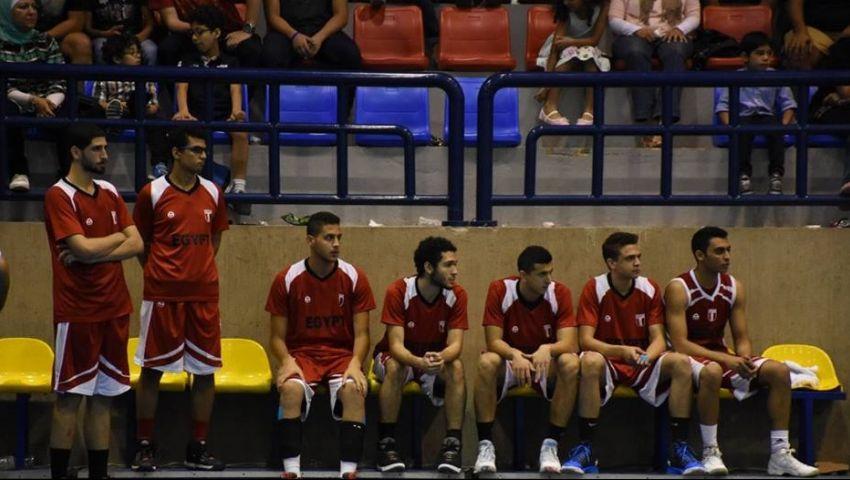 اليوم .. مصر تواجه لبنان بختام البطولة العربية لناشئي السلة