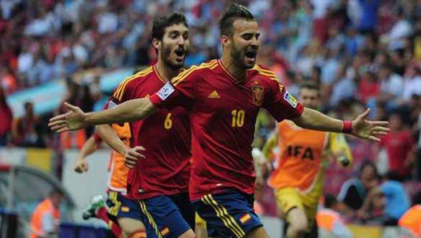 باراجواى تخطف إسبانيا بهدف وتصعد لقبل نهائى مونديال الشباب