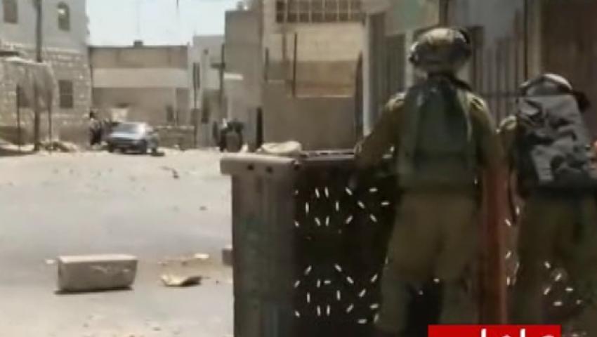 فيديو.. اشتباكات بين قوات الاحتلال ومحتجين على حرق رضيع