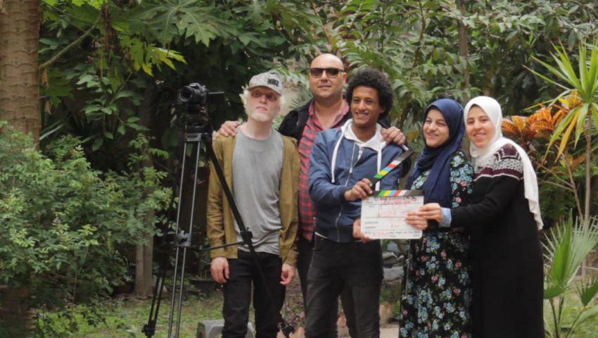 بالصور| «سينما في كل مكان».. صناعة الأفلام بإبداعات شباب الصم