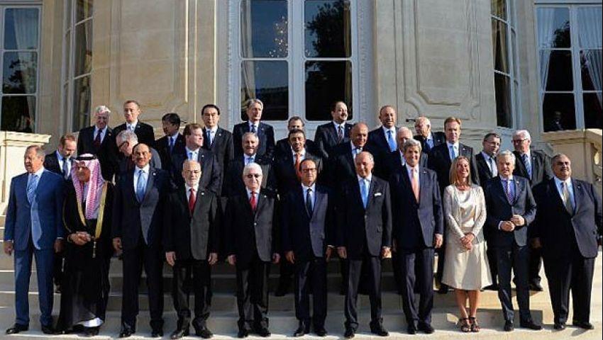 بالفيديو.. مؤتمر باريس يتعهد بدعم العراق عسكريا ضد داعش