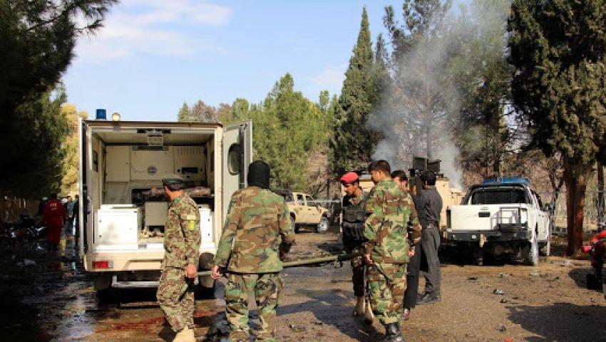 مصر تدين الهجوم الإرهابي بقاعدة للجيش الأفغاني