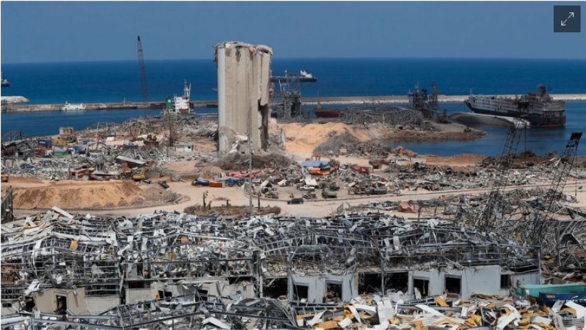 صحيفة ألمانية: ماكرون المصرفي السابق سيجني أرباح انفجار بيروت