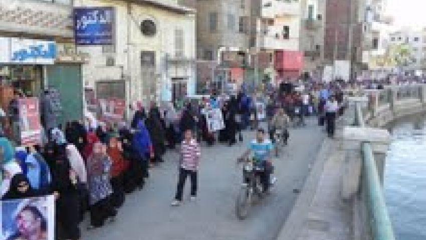 مسيرات غاضبة بالفيوم تنديداً بالإفراج عن مبارك