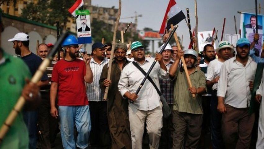 الجيش يمنع مسيرة مؤيدة لمرسي من التوجه للتحرير
