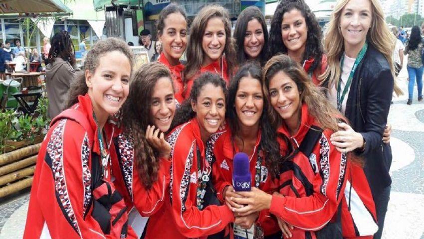 منتخب السباحة التوقيعية سابعا بأولمبياد ريو