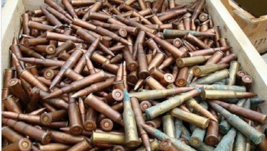 القوات المسلحة تحبط محاولة تهريب كميات كبيرة من الأسلحة والذخائر
