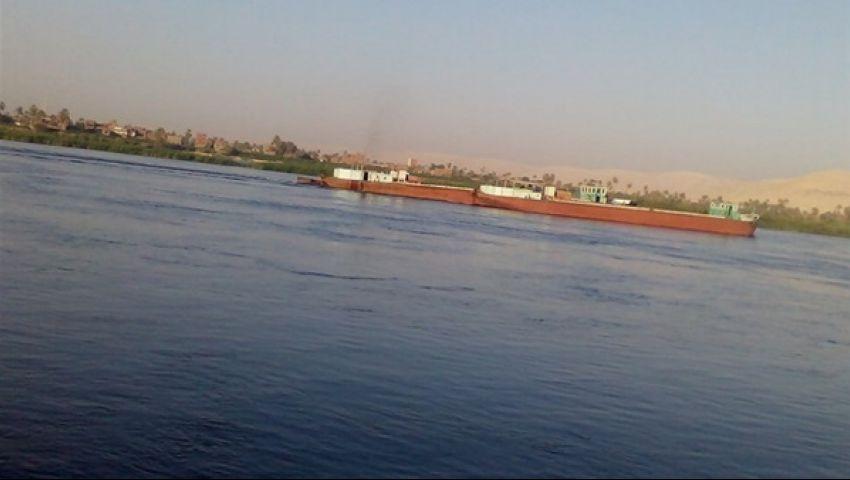 الإحصاء: 18.6% انخفاض في نقل البضائع عبر النيل خلال 2015