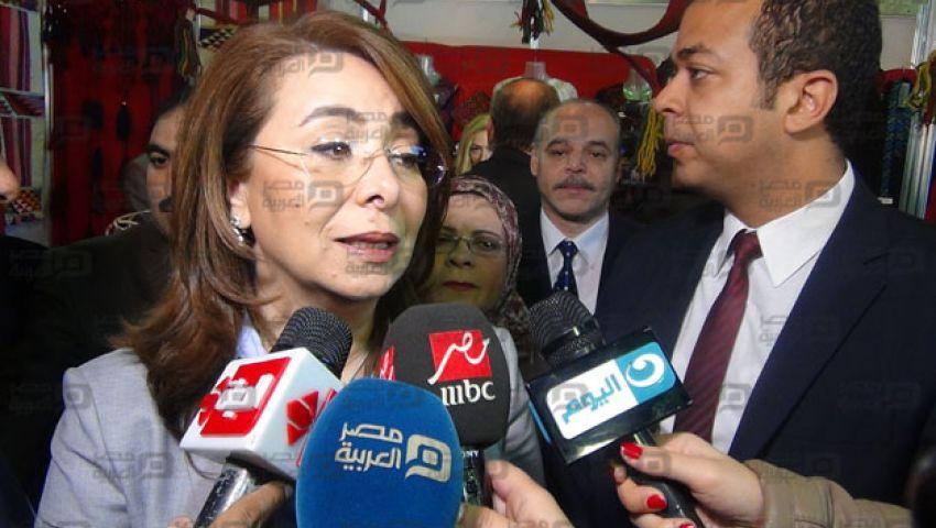 غادة والي: لم نحدد تعويضات ضحايا كنيستي المرقسية ومارجرجس حتى اﻵن