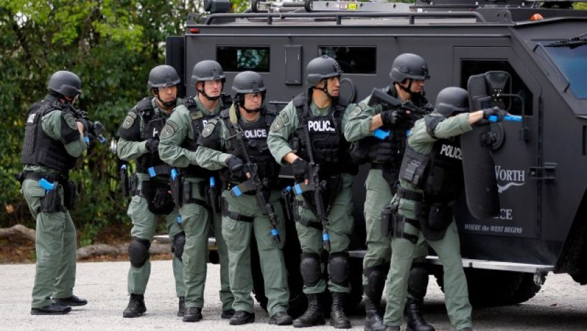 إصابة شخص ومقتل المهاجم بإطلاق نار في ولاية أمريكية