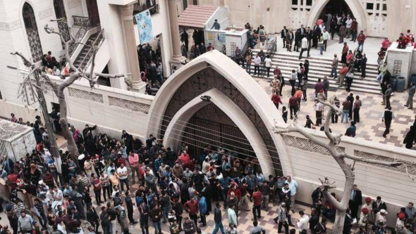 أحد مصابي تفجير كنيسة مارجرجس: مفيش حكومة