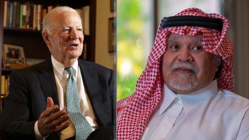 لم أتفوه بهذا الكلام..بيكر يُكذِّب تصريحات الأمير بندر بخصوص قطر