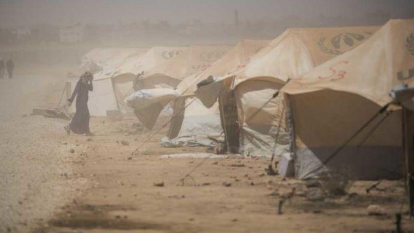 بارود وصقيع ومصير مجهول.. هكذا يعاني «الركبان» في سوريا