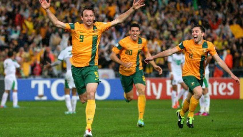 أستراليا تقهر العراق وتتأهل للمونديال