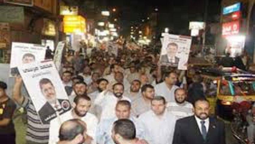 وقفة للقوى الإسلامية رفضا لعزل مرسي في العريش