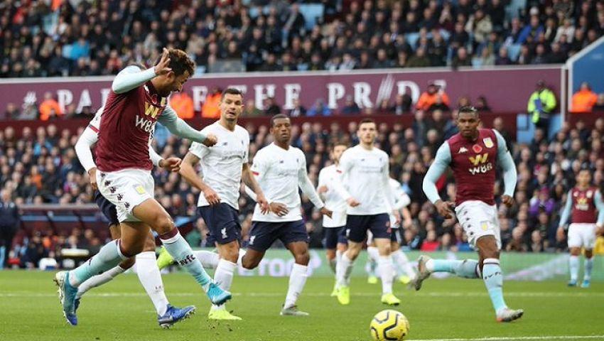 بالفيديو.. تريزيجيه يسجل أول أهدافه في الدوري الإنجليزي في شباك ليفربول