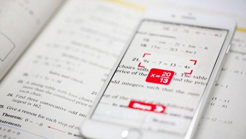 فيديو.تطبيق يستخدم كاميرة هاتفك لحل أي معادلة رياضية