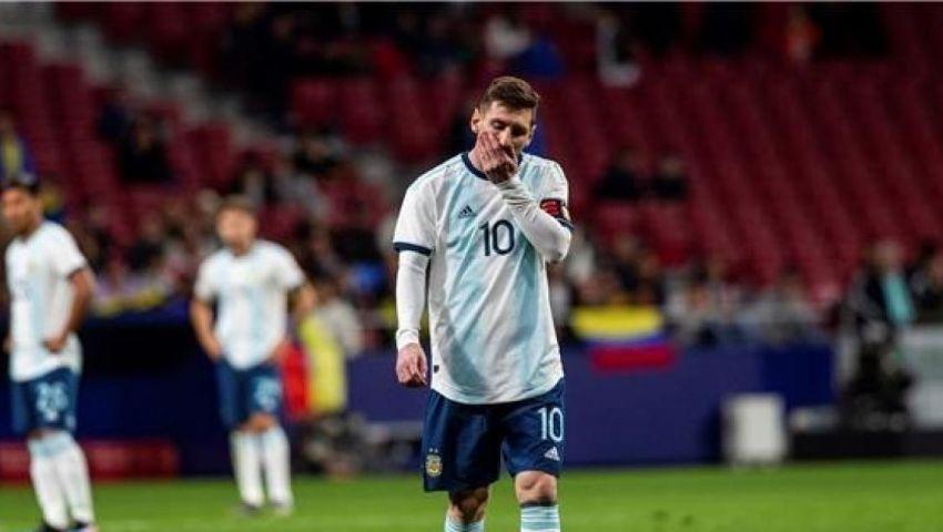 بالفيديو| في حضور ميسي.. الأرجنتين تسقط بثلاثية أمام فنزويلا