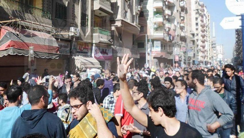 بالصور مسيرتان بالدقهلية لإحياء ذكرى مذبحة القرن