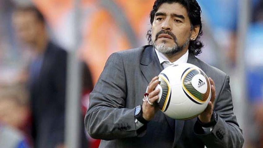 مارادونا يختار إسماعيل مطر للمشاركة في مباراة من أجل السلام