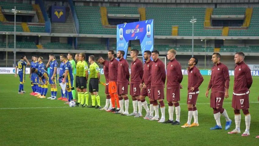 روما يبدأ مشواره في الدوري الإيطالي بنتيجة سلبية (صور)