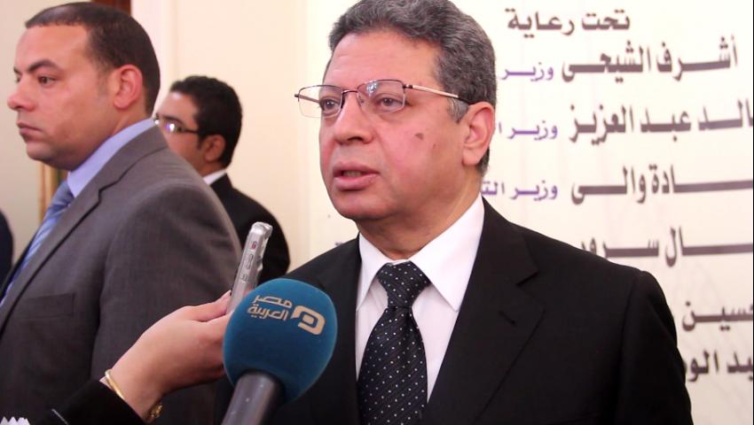 بالفيديو  وزير القوى العاملة: التعيين الحكومي عبء.. والأمل في القطاع الخاص