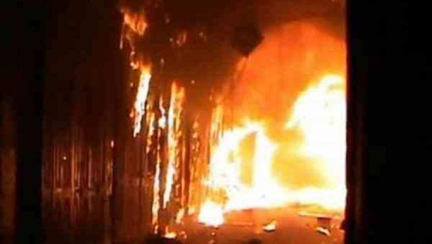 السيطرة على حريق في 6 منازل بسوهاج