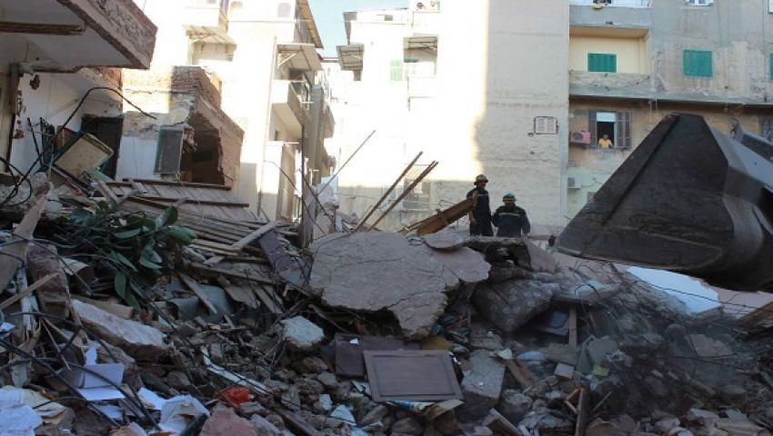 الحماية المدنية: لا وفيات في انهيار «عقار جاردن سيتي»