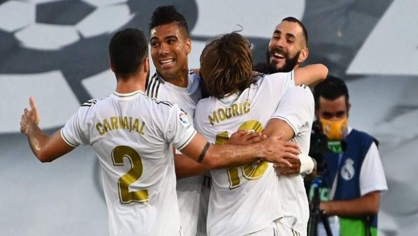 ثنائية بنزيما في شباك فياريال تمنح ريال مدريد لقب الليجا.. فيديو