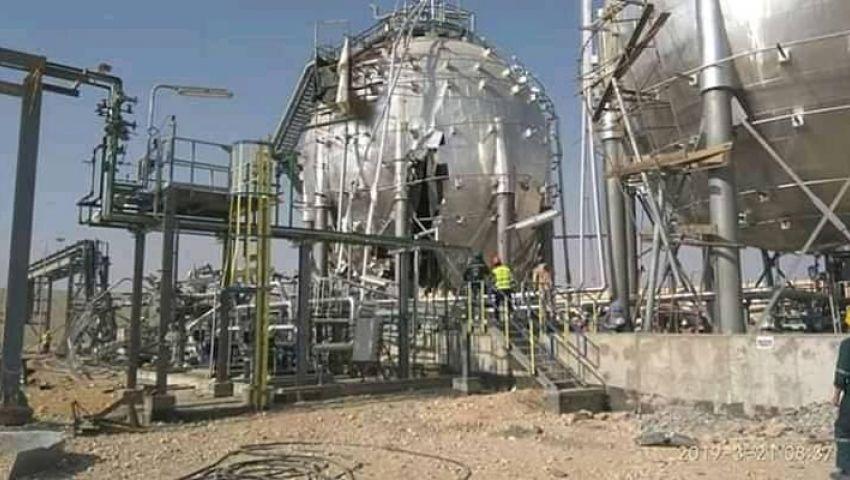 القصة الكاملة لانفجار خزانات مصنع الأسمدة الفوسفاتية بالسخنة