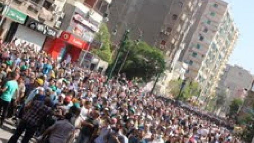 أسيوط تشيع أحد ضحايا اشتباكات الجمعة بالقاهرة