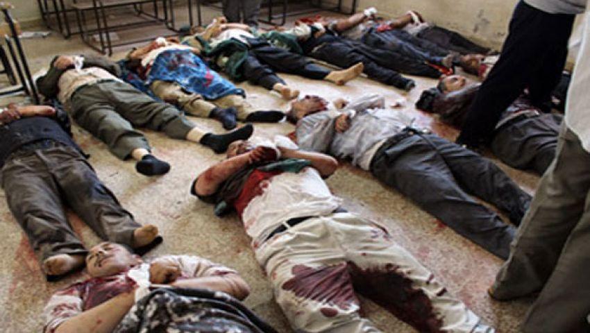 الشبكة السورية: الأسد قتل 80 شخصا الاثنين