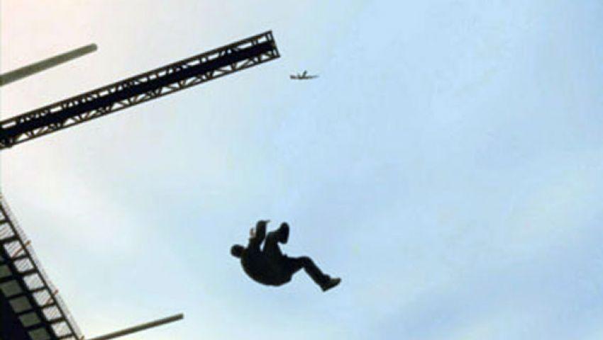 سقوط مهندس من أعلى عقار بالإسكندرية