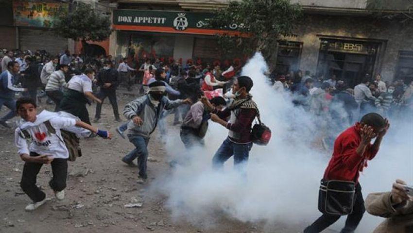 مشارك : محمد محمود موجة الثورة الثانية التى كشفت من خانها