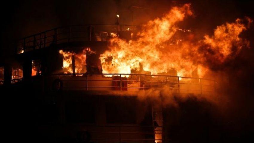 السيطرة على حريق بشركة السويس لتصنيع البترول