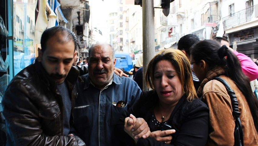 دفاع اغتيال النائب العام يعزي ضحايا انفجارات كنائس طنطا والإسكندرية