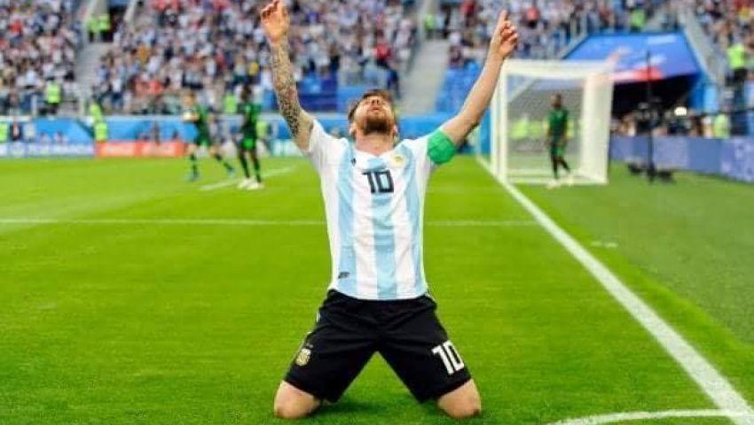فيديو| الأرجنتين تقضي على الأحلام النيجيرية وتتأهل لثمن نهائي المونديال
