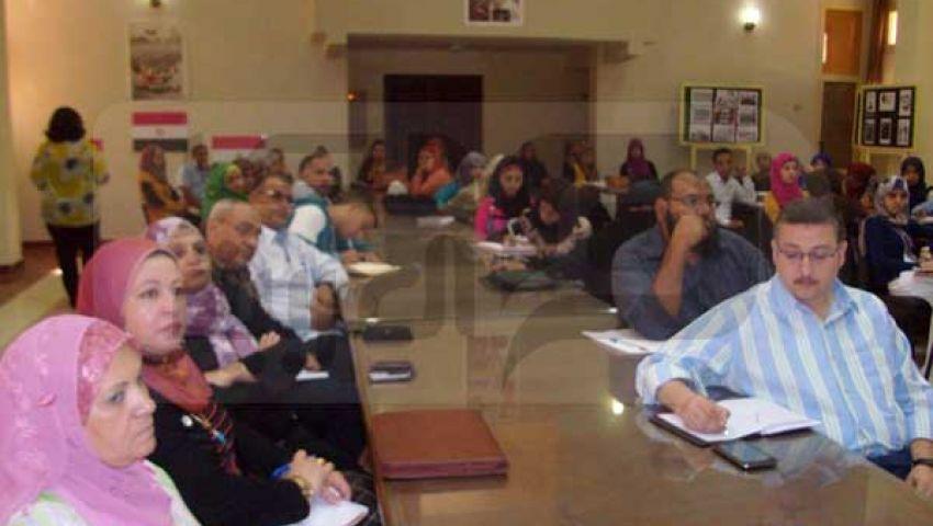 لقاء حول التعداد الاقتصادي بمجمع إعلام الإسماعيلية