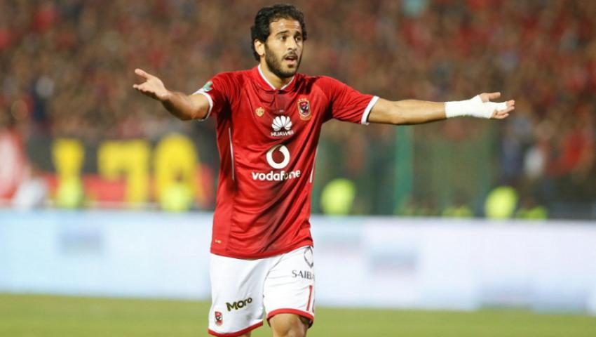 لهذا السبب.. القبض على مروان محسن لاعب الأهلي في الجيزة