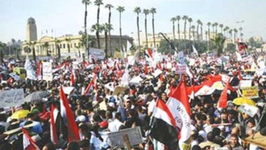 إطلاق نار عشوائي بمحيط اعتصام مؤيدي مرسي بالنهضة